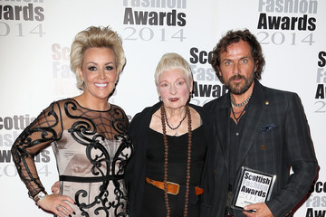 Vivienne Westwood Andreas Kronthaler Winners Room at the Scottish Fashion Awards