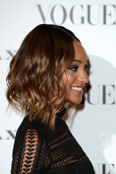 Jourdan Dunn's Textured Waves