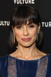 Constance Zimmer opted for a simple bob when she attended the Vulture awards season party.