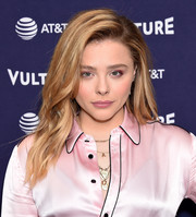 Chloe Grace Moretz rocked a piecey layered cut at the Vulture Festival Los Angeles 2018.