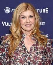 Connie Britton wore her hair in boho-glam waves at the Vulture Festival Los Angeles 2018.