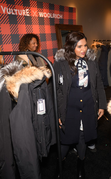 More Pics of Mindy Kaling Wool Coat (5 of 23) - Mindy Kaling Lookbook - StyleBistro [the vulture spot,outerwear,fur,event,coat,overcoat,suit,fur clothing,formal wear,mindy kaling,vulture spot,park city,utah,sundance film festival]