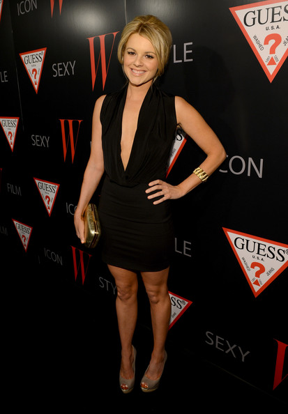 More Pics of Ali Fedotowsky Little Black Dress (1 of 8) - Ali Fedotowsky Lookbook - StyleBistro