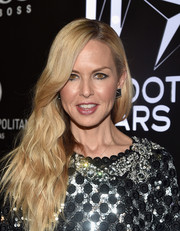 Rachel Zoe traded in her signature boho center part for this side sweep when she attended the W Magazine Shooting Stars exhibit opening.