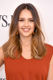 Jessica Alba sported a stylish ombre 'do at the WSJ Future of Everything Festival.