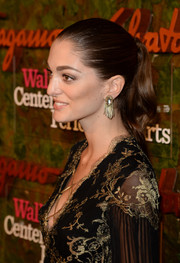 Sofia Sanchez Barrenechea wore a red carpet-worthy ponytail when she attended the Wallis Annenberg Center Inaugural Gala.