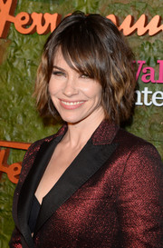 Evangeline Lilly brought an edgy vibe to the Wallis Annenberg Center Inaugural Gala with her layered razor cut.