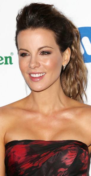 More Pics of Kate Beckinsale Ponytail (1 of 5) - Kate Beckinsale Lookbook - StyleBistro