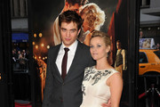 Actors Robert Pattinson and Reese Witherspoon attend the