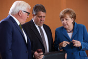 Angela Merkel and Frank-Walter Steinmeier Photo