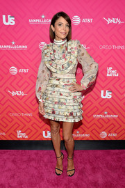 Bethenny Frankel went the ultra-girly route in a floral ruffle frock by Zimmermann for Us Weekly's Most Stylish New Yorkers 2016.