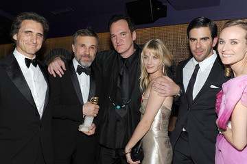 Diane Kruger Melanie Laurent The Weinstein Company Golden Globes After-Party - Inside