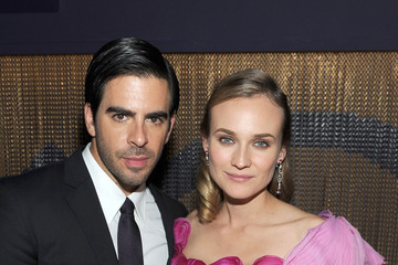 Diane Kruger Eli Roth The Weinstein Company Golden Globes After-Party - Inside