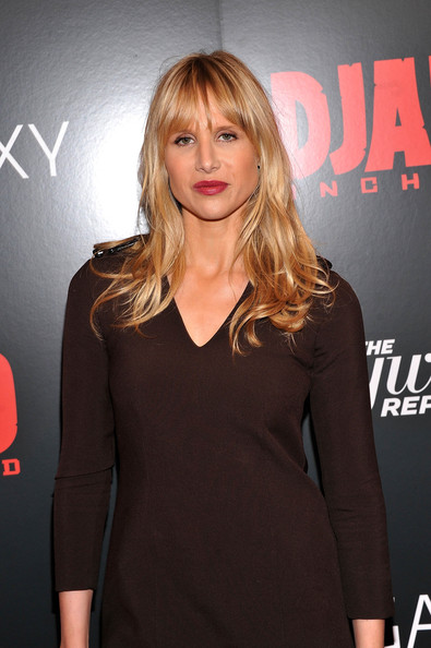 More Pics of Lucy Punch Long Wavy Cut with Bangs (1 of 4) - Long Wavy Cut with Bangs Lookbook - StyleBistro