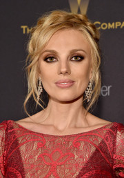 Bar Paly went for boho elegance with this crown braid at the Weinstein Company and Netflix Golden Globe party.