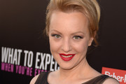 Wendi McLendon-Covey Bobby Pinned updo