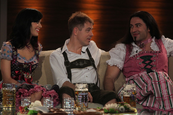 More Pics of Katy Perry Bangle Bracelet (1 of 53) - Katy Perry Lookbook - StyleBistro [katy perry,comedians,buelent ceylan,michael mittermeier,wetten dass,event,fashion,fun,ceremony,dress,meal,tradition,party,wedding,munich,germany,olympiahalle]