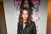 Willa Holland Leather Jacket