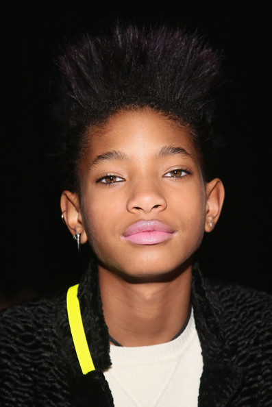 Willow Smith Fauxhawk