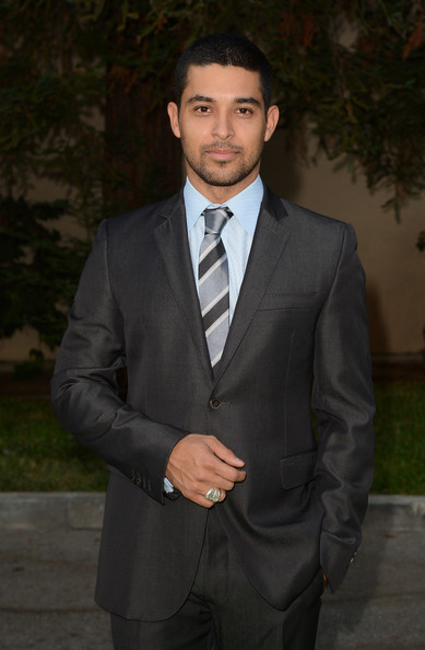 Wilmer Valderrama Striped Tie