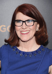 Kate Flannery sported a bouncy flip at the 'Woman in Gold' premiere.
