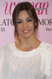 Leire Martinez tied her pretty tresses in a loose bun which gave her Woman Magazine Awards look the effortless vibe.
