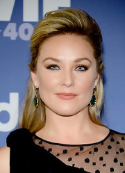 Elisabeth Rohm teased her half up 'do for a cool and contemporary touch.
