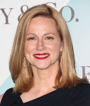 Laura Linney attended the Crystal + Lucy Awards wearing a very neat flippy lob.
