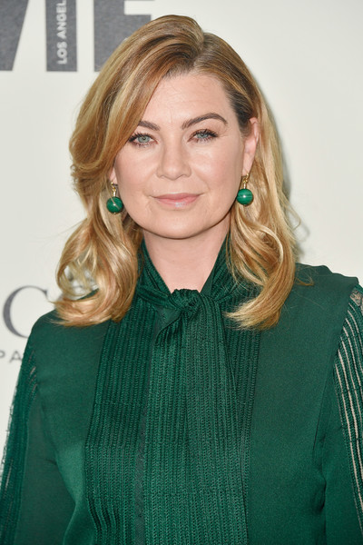 Ellen Pompeo's Bouncy Waves