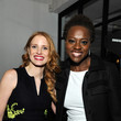 Viola Davis and Jessica Chastain