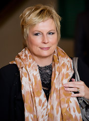 Jennifer Saunders sported an easy, breezy pixie cut at the Women in Film and TV Awards.
