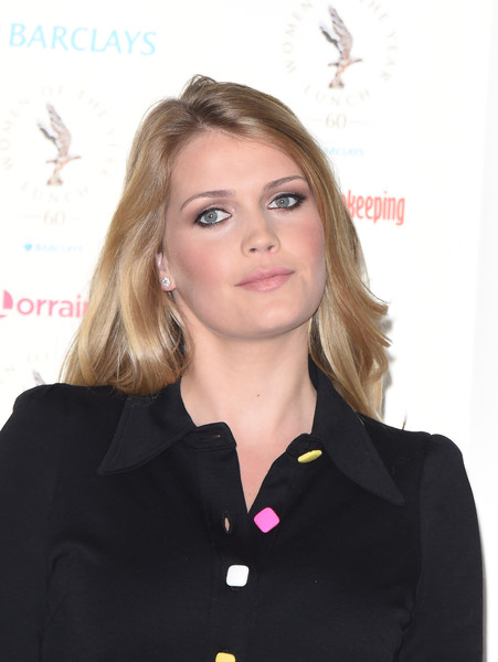 More Pics of Kitty Spencer Shirtdress (3 of 4) - Dresses & Skirts Lookbook - StyleBistro [hair,blond,hairstyle,official,long hair,white-collar worker,arrivals,kitty spencer,awards,england,london,intercontinental park lane hotel,women of the year lunch awards,lunch,women of the year]