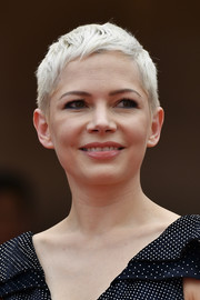 Michelle Williams attended the Cannes Film Festival screening of 'Wonderstruck' rocking an ice-blonde pixie.