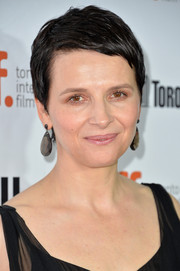 Juliette Binoche looked cool with her boy cut at the TIFF premiere of 'Words and Pictures.'