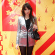 Daisy Lowe Entertains the Harry Potter Crowd