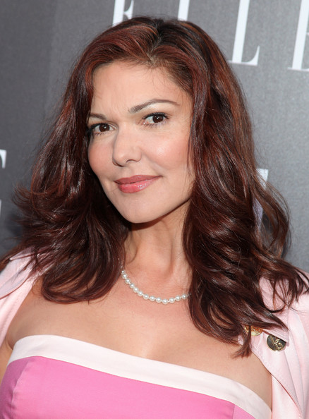 More Pics of Laura Harring Medium Curls (1 of 4) - Laura Harring Lookbook - StyleBistro
