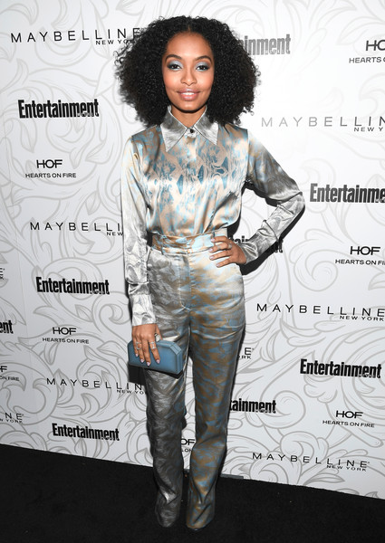 Yara Shahidi Hard Case Clutch