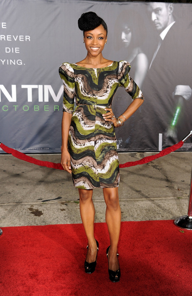 Yaya Dacosta Peep Toe Pumps Shoes Lookbook Stylebistro