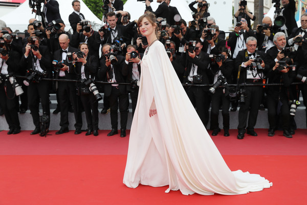 Louise Bourgoin In Giambattista Valli Couture