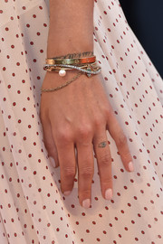 Chiara Ferragni kept it simple with this neutral mani at the Venice Film Festival premiere of 'The Young Pope.'