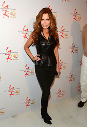 Tracey E. Bregman opted for classic skinny pants for her look a 'The Young and the Restless' 40th anniversary.