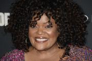 Yvette Nicole Brown Medium Curls with Bangs