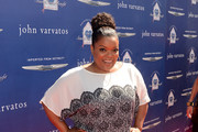 Yvette Nicole Brown Print Blouse