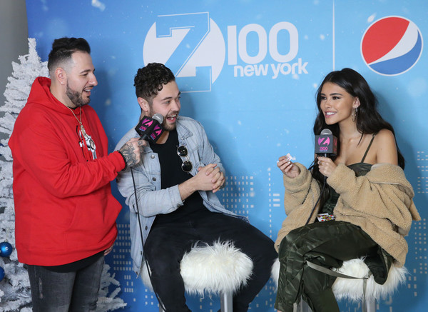 More Pics of Madison Beer Faux Fur Coat (3 of 13) - Outerwear Lookbook - StyleBistro [fun,friendship,event,photography,canidae,leisure,arrivals,madison beer,john stessel,new york city,hammerstein ballroom,z100,jingle ball 2018,mo bounce]
