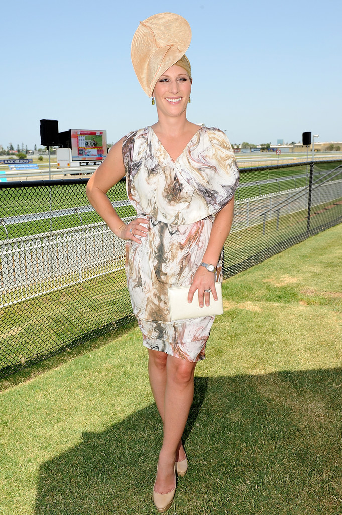 Zara Phillips Print Dress Zara Phillips Looks Stylebistro