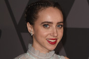 Zoe Kazan French Braid