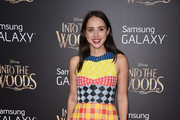 Zoe Kazan Print Dress