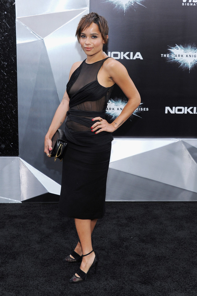 Zoe Kravitz Little Black Dress Zoe Kravitz Looks