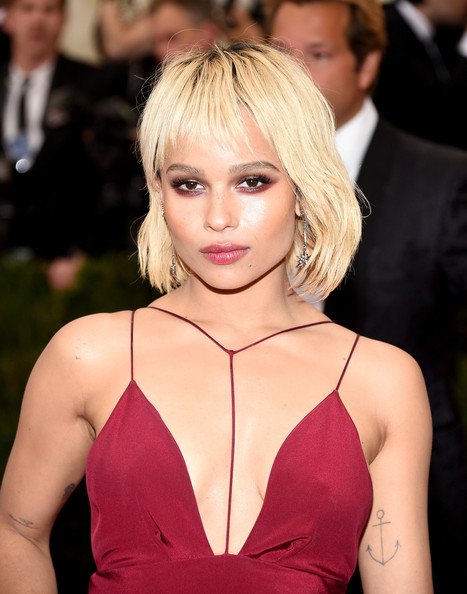 Zoe Kravitz Smoky Eyes