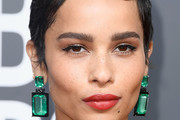 Zoe Kravitz Red Lipstick